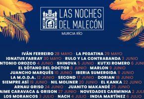 Las Noches del Malecón 2021 - Cartel, conciertos, entradas y horarios