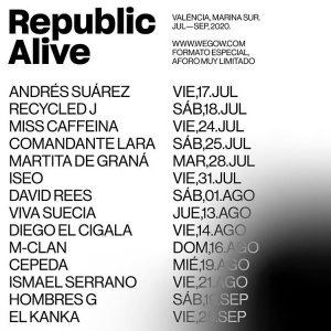 republic alive programacion