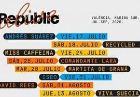 Republic Alive Valencia 2020 - Conciertos, entradas y fechas