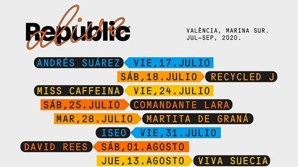 Republic Alive Valencia 2020 – Conciertos, entradas y fechas