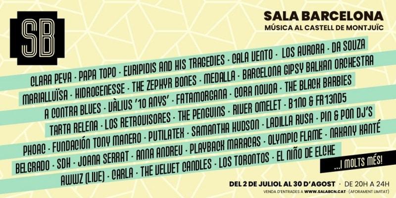 sala barcelona cartel - eargasm