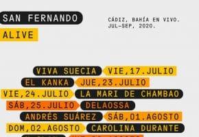 San Fernando Alive - Conciertos, cartel y entradas