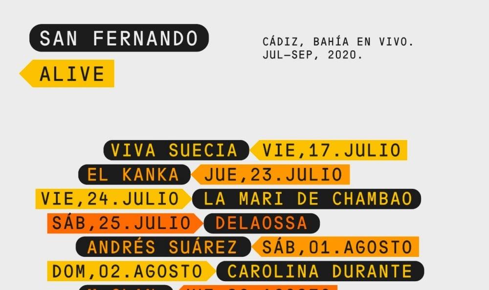 San Fernando Alive – Conciertos, cartel y entradas