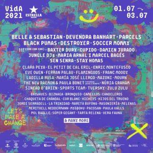 vida festival 2021 cartel