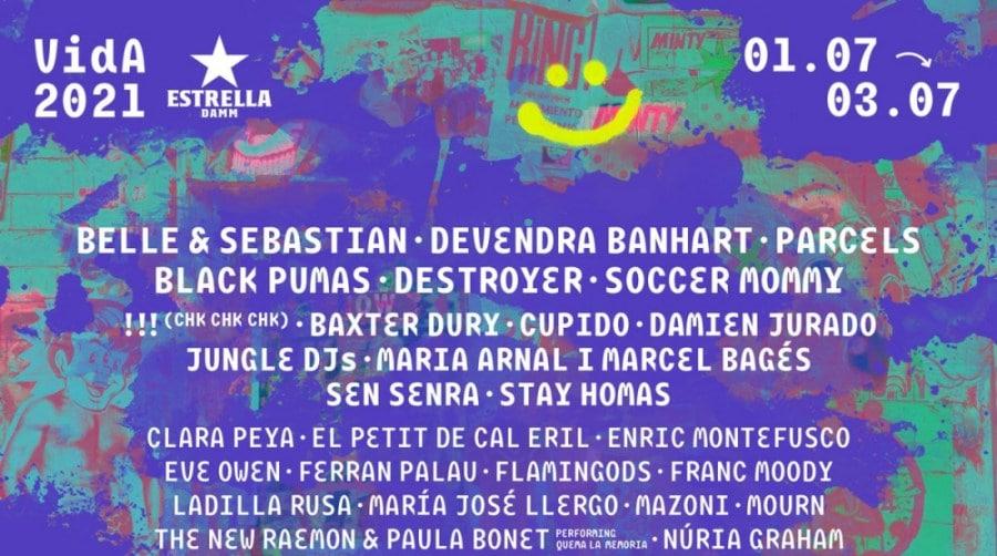 Vida Festival 2021 – Confirmaciones, cartel y entradas