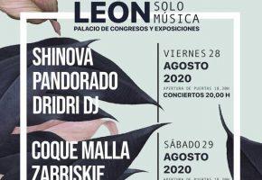 León Solo Música 2020 - Entradas e Información