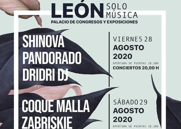 León Solo Música 2020 – Entradas e Información
