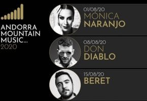 Andorra Mountain Music 2020 - Artistas, cartel y entradas | Texas, Bob Sinclar...