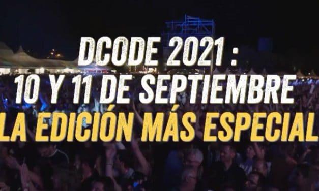 DCODE 2021 – Rumores, cartel, fechas y entradas