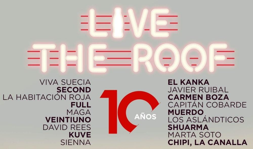 Live The Roof 2020 – Conciertos, fechas y entradas | Cartel