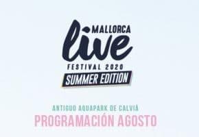 Mallorca Live Festival Summer Edition 2020 - Conciertos, fechas y entradas | Programación