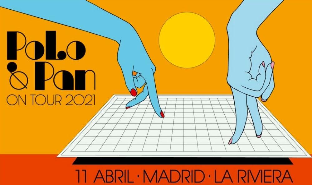 Concierto de Polo & Pan en Madrid – 2021 – Entradas La Riviera