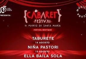 Cabaret Festival en El Puerto de Santa María - 2021 - Conciertos, cartel y entradas