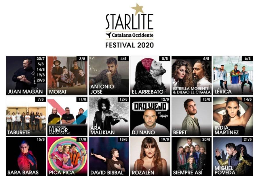 Starlite Festival Marbella 2020 – Conciertos, entradas y fechas   Verano