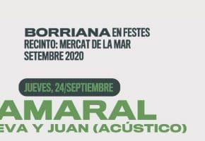 Borriana en Festes 2020 - Conciertos y entradas | Amaral, Dorian, Marlon...