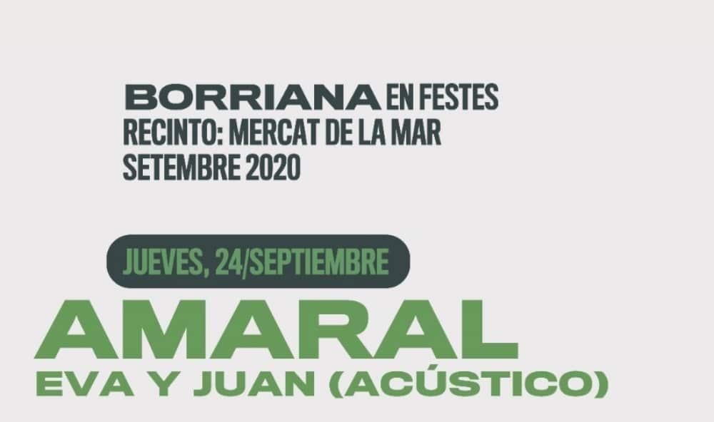 Borriana en Festes 2020 – Conciertos y entradas | Amaral, Dorian, Marlon…