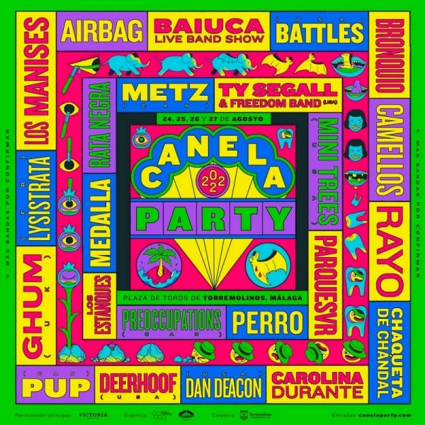 canela party 2022 cartel