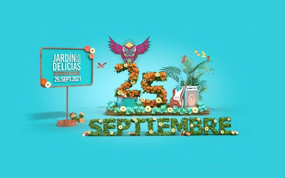 Jardín de las Delicias 2021 – Cartel, conciertos y entradas