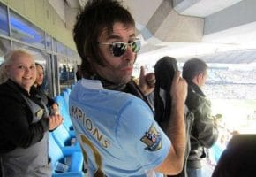 Liam Gallagher enloquece con la posible llegada de Messi al Manchester City