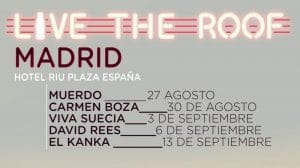 live the roof madrid