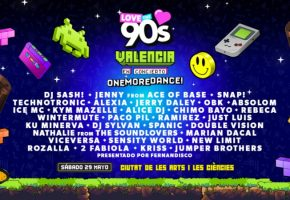 Love The 90s Valencia 2021 - Cartel y entradas
