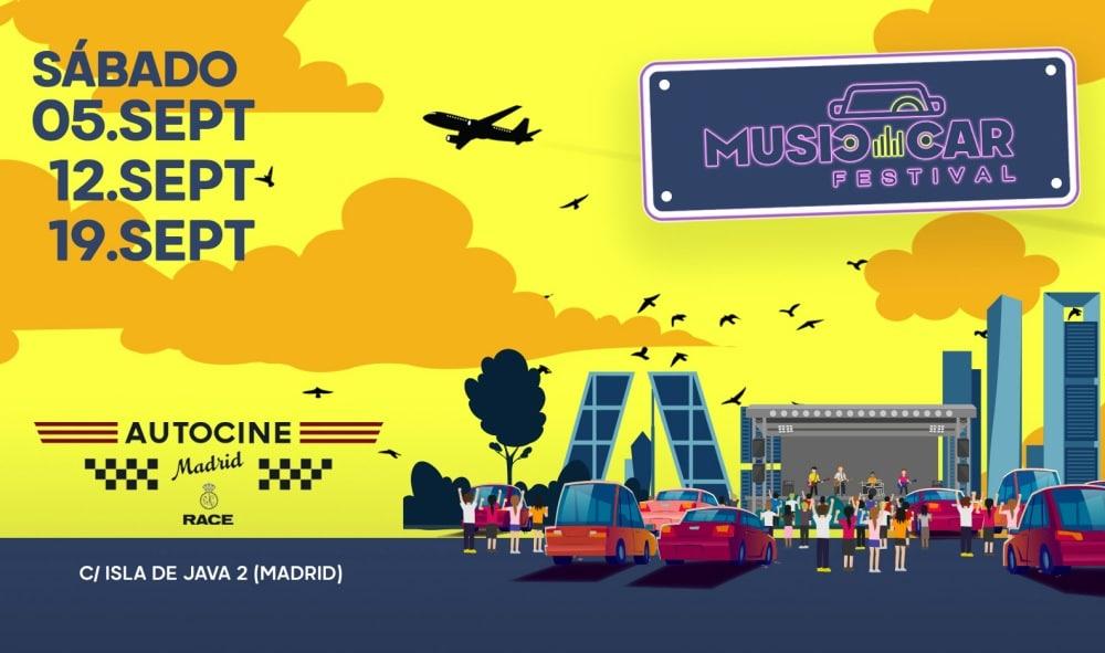 Music Car Festival 2020 – Conciertos, entradas y fechas (APLAZADO)