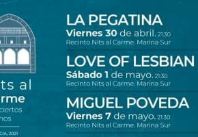 Nits al Carme en Valencia - 2021 - Conciertos, entradas y fechas
