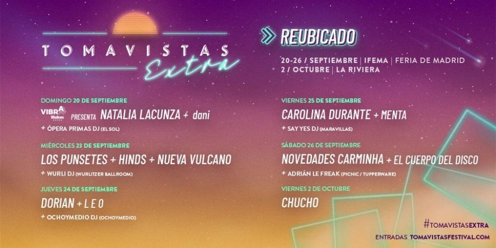 Tomavistas Extra – Conciertos, fechas y entradas en IFEMA