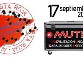 El sector cultural de Espectáculos y Eventos de España se movilizará el 17 de septiembre