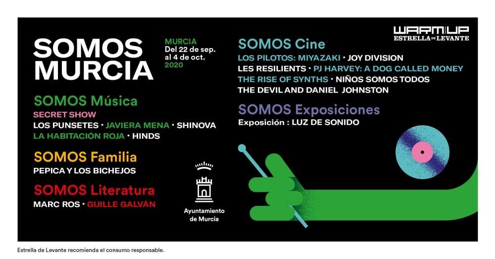 Somos Murcia 2020 – Programación completa y conciertos | Invitaciones
