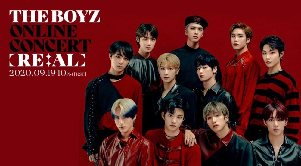 Concierto de THE BOYZ streaming [RE:AL] – Entradas online | 19 septiembre 2020