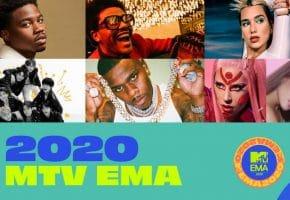 MTV EMA 2020 - Lista de nominados y dónde votar