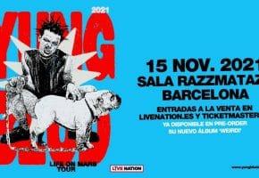 Concierto de Yungblud en Barcelona - 2021 - Entradas