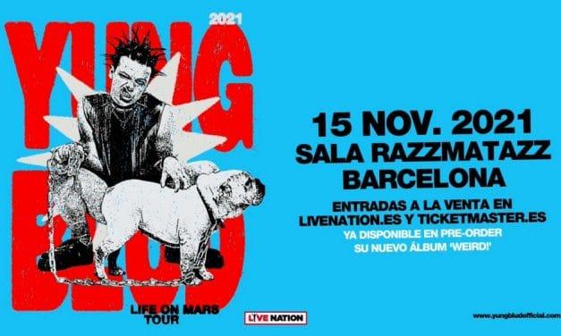 Concierto de Yungblud en Barcelona – 2021 – Entradas