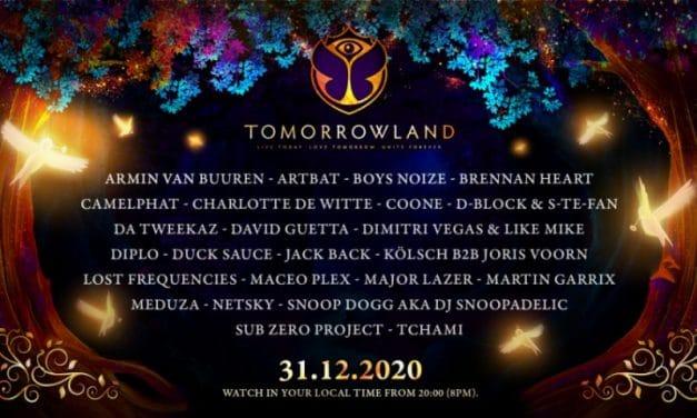 Tomorrowland en streaming | Entradas, cartel, horarios y dónde verlo Nochevieja 2020