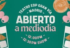 Abierto a Mediodía en Madrid - 2021 - Conciertos, cartel y entradas