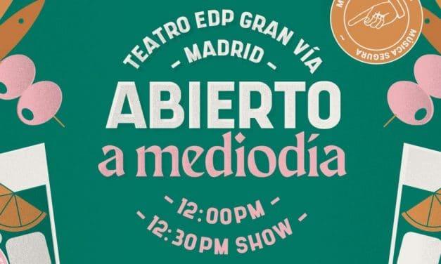 Abierto a Mediodía en Madrid – 2021 – Conciertos, cartel y entradas