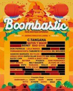 boombastic festival 2021 cartel