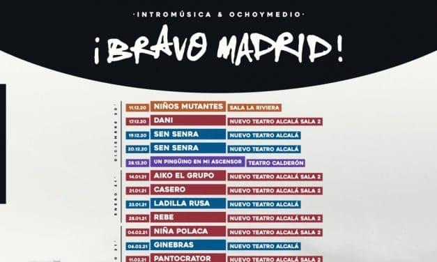¡Bravo Madrid! 2020 / 2021 – Conciertos, fechas y entradas