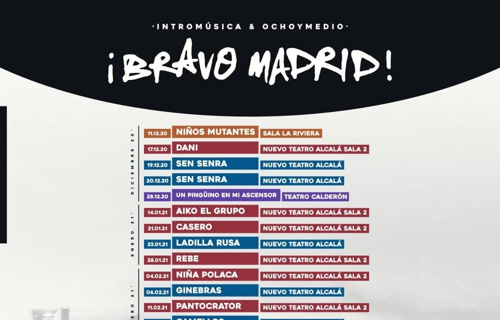 ¡Bravo Madrid! 2021 – Conciertos, fechas y entradas