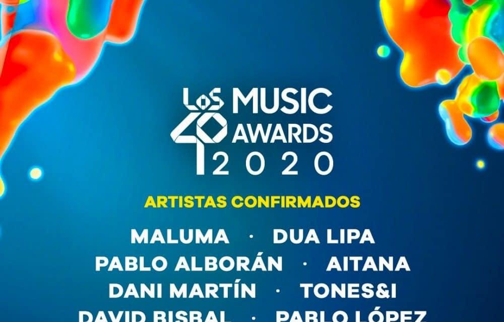 Los 40 Music Awards 2020 – Cartel, horarios y dónde verlo