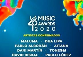 Los 40 Music Awards 2020 - Cartel, horarios y dónde verlo