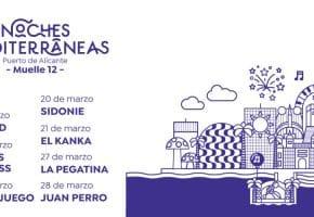 Noches Mediterráneas en Alicante - 2021 - Conciertos, cartel y entradas