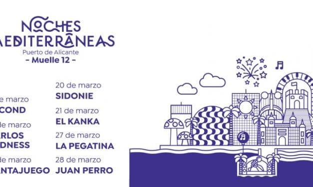 Noches Mediterráneas en Alicante – 2021 – Conciertos, cartel y entradas