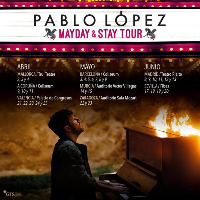 pablo lopez mayday tour