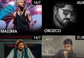 Maluma, Antonio Orozco, Alan Parsons y Antonio José se unen a Starlite 2021