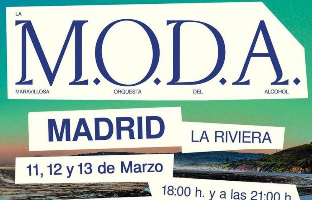 La M.O.D.A anuncian 6 conciertos en Madrid en 2021 – Entradas La Riviera