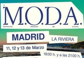 La M.O.D.A anuncian 6 conciertos en Madrid en 2021 - Entradas La Riviera