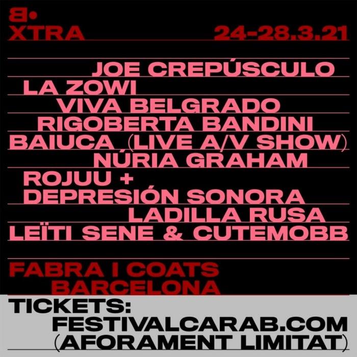 festival cara b
