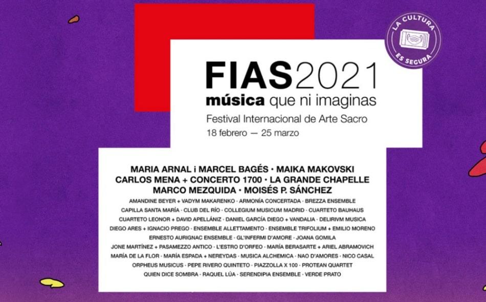 FIAS 2021 – Conciertos, cartel y entradas | Programación